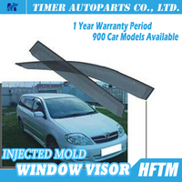 car window wind deflectors for toyota 01-06 FIELDER