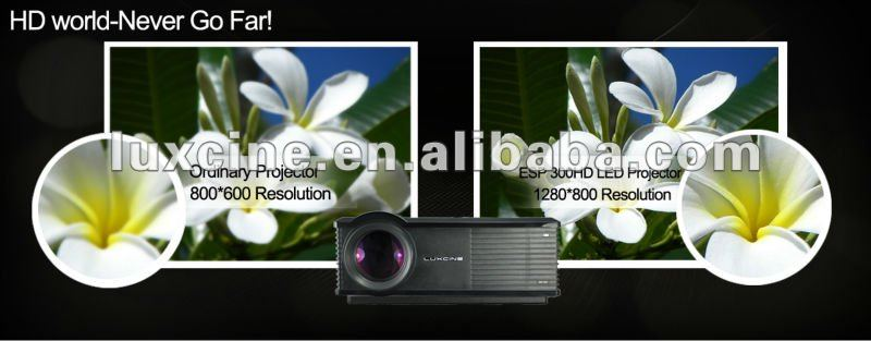 Hot seller !!! ESP300HD led projectors china made 30% off