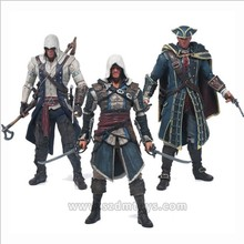Newest Assassins Creed custom plastic articulated 1/6 pvc action Figure