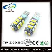 12V auto led light T10 canbus 1210 26SMD LED car reading lamp
