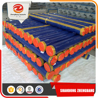 High density Anti-Aging Aluminium Eyelet Pe Tarpaulin Roll UV laminating