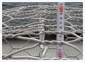 "Hongda 3/4"" Galvanized after Weaving Hexagonal Wire Mesh (Factory Direct)"