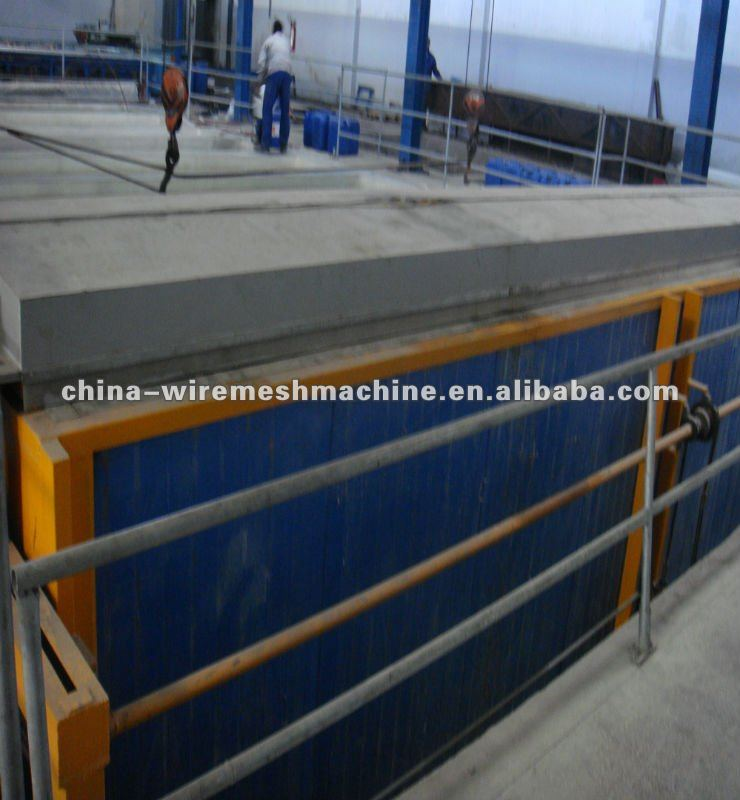 Drying oven of performated metal mesh powder painting line