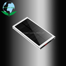 high quality ultra-thin solar panel power bank 20000mah