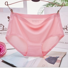 New Design Ice Nylon Women Underwear Invisible Seamless Panties