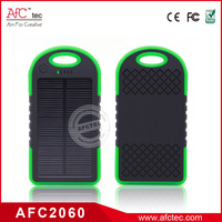 4000mah portable solar panel charger for mobile phone