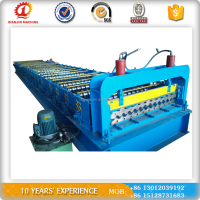 High rib gutter color steel tile roll forming machine