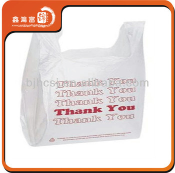 New Design And Fashion T Shirt Plastic Bags Wholesale
