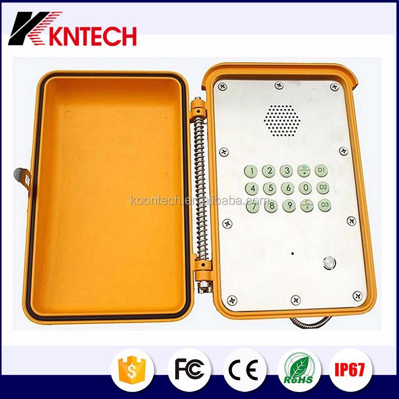 industrial dtmf telephone
