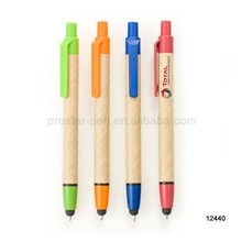 2017 Cheapest Promotional Eco Recyclable Paper Touch Pen