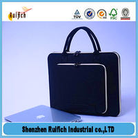 Promotional 15 inch neoprene tote laptop case,14' laptop tote bag,washing tablet bags