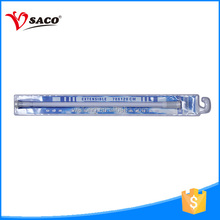 Optional tool and screw-on type plastic shower curtain pole for shower room