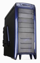 PC Gaming Case with Chassis size L516*W450*H210mm, fan controller, cooling LED fan