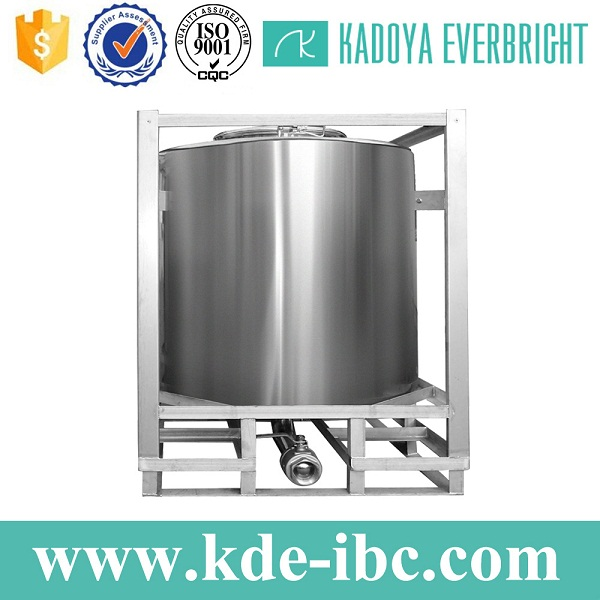 Best price round stainless steel container for sale