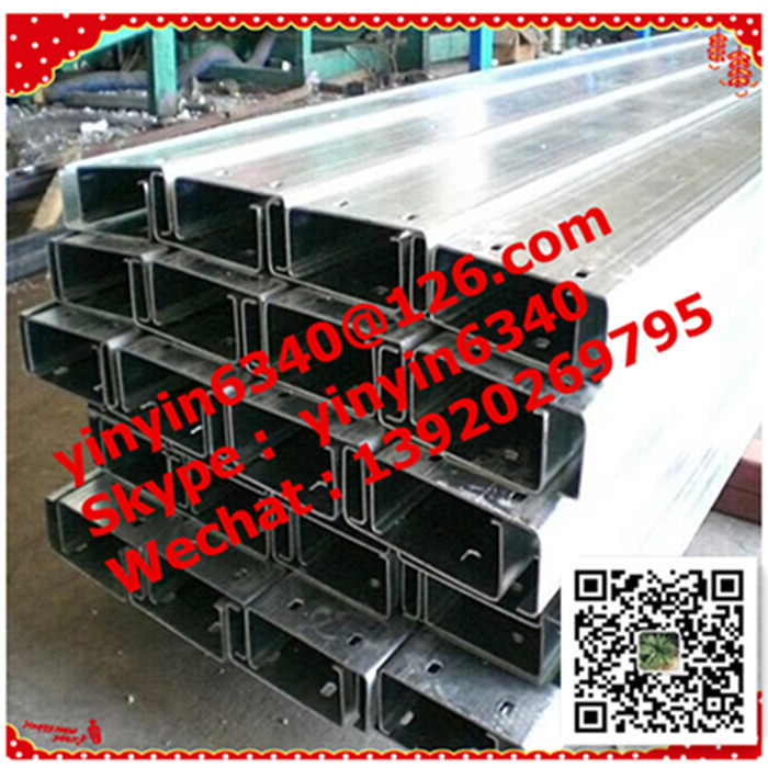 Bottom price promotional specification c channel purlins