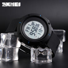 Skmei custom logo waterproof men wrist watch band strap watches