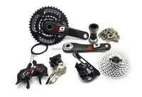 Mountain bicycle groupset X-O 30 speed group set
