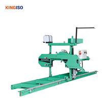 2015 Hot Selling MJ620 Electric Engine Portable Horizontal Band Sawmill