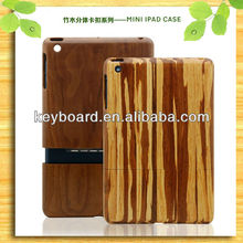 natural handmade original wooden protective case for ipad mini