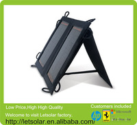 2014 new chinese cell phone charger solar panels for iPhone and iPad directly under the sunshine