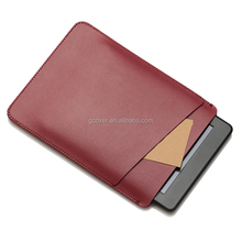 2016 new leather pouch for Kindle Paperwhite, for Kindle paperwhite leather case