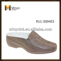 Minyo 2014 women flat shoes latest design comfortable woman slipper for slip on