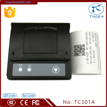 2inch 58mm Thermal Panel Ticket Printer TC301A -BR Solid black