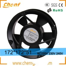 New energy saving axial flow 172mm ac fan 220v ventilation