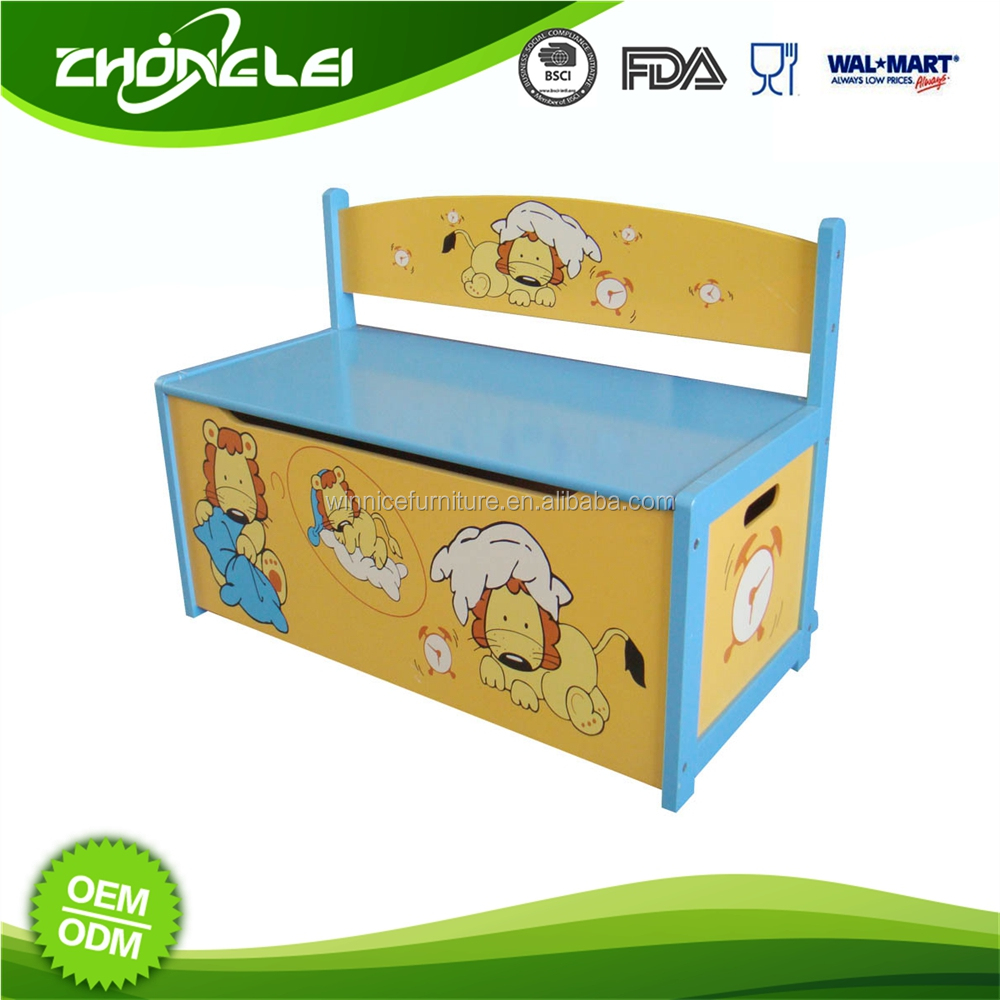 High Quality Make To Order SEDEX Approved Toy Box Safety