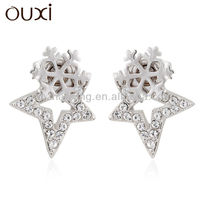 new design fashion earing jewellery with Austrian crystal