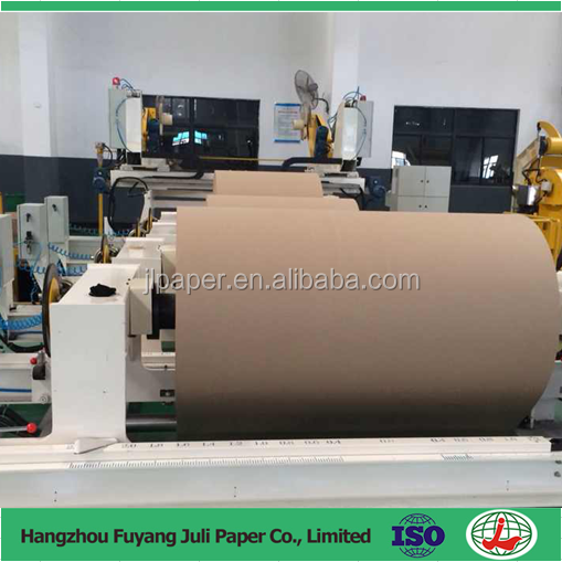 110 gsm High Quality Brown Kraft Liner Paper/Kraft Paper/Kraft Paper Jumbo Roll