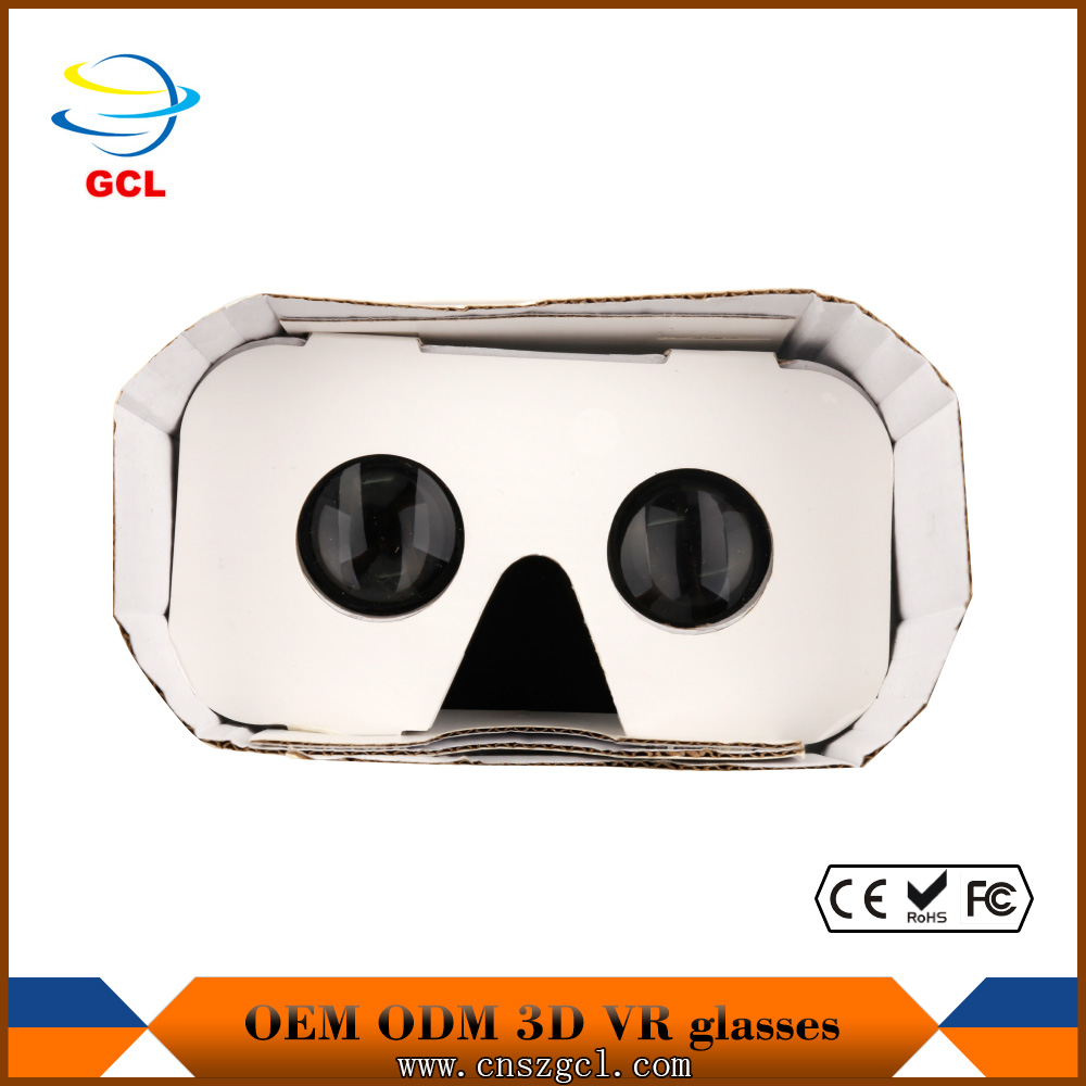 2016 cheap virtual reality glasses 3D cardboard box VR BOX for all smart phone