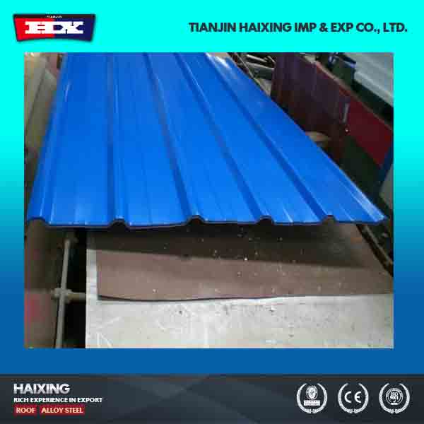 SGCC DX51D Galvanized gi corrugated metal roofing sheets for walls and roof manufacturer