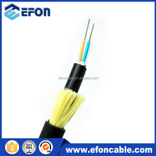 All Dielectric Self Supporting laser 48 core optical fiber cable come with suspension clamp