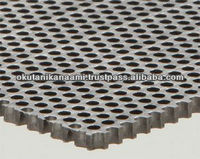 For screening grains seeds coal sands gravels and chemical products stainless perforated metal
