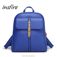 External frame luxury out look woman backpack school bag for girl student