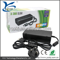 factory price UK plug charger power ac adapter for xbox 360 slim 135W made in China
