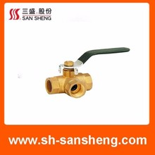 Customized professional design brass ball vale for water,oil,steam