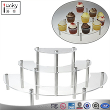 Acrylic Cupcake Stand Tower/ Dessert Stand/ Food Display Stand For Cake Shop
