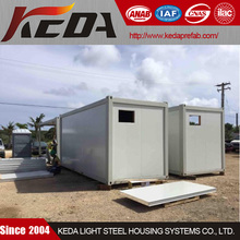 Customized Light Steel House Prebuilt Container Home Office at Construction Site for sale