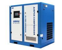 75kw, 13bar, 10m3/min, 100hp Water Lubricated Oil Free Silent Air Compressor