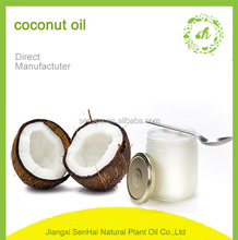 Bulk sale good market refined cold pressed orgnic extra virgin coconut oils for health care