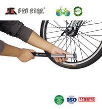 Good quality Aluminum hand held air pump bike with flexible hose