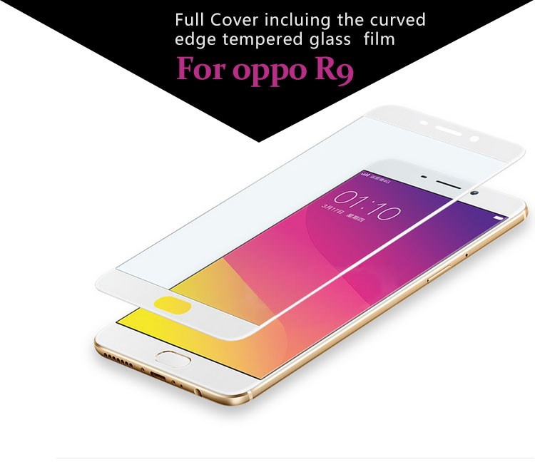 Top- quality 9H Tempered Glass Screen Protector for Oppo Phone, oppo New Mobile Clear Screen Protector for oppo R9#