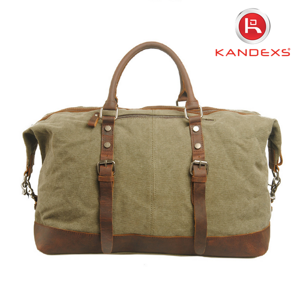 2015 Women's Men's Vintage Travel Bags ,Retro Handbags Storage Sport Bags