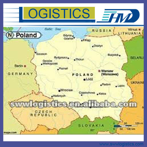 Cheap Air freight shipping rates service from Shenzhen to Warsaw Poland