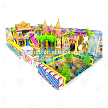 High quality indoor soft playgrounds for plastic garden for sale
