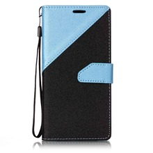 Splicing Color Leather Phone Case for Samsung S8 Plus,for Samsung S8 Plus Wallet Cover
