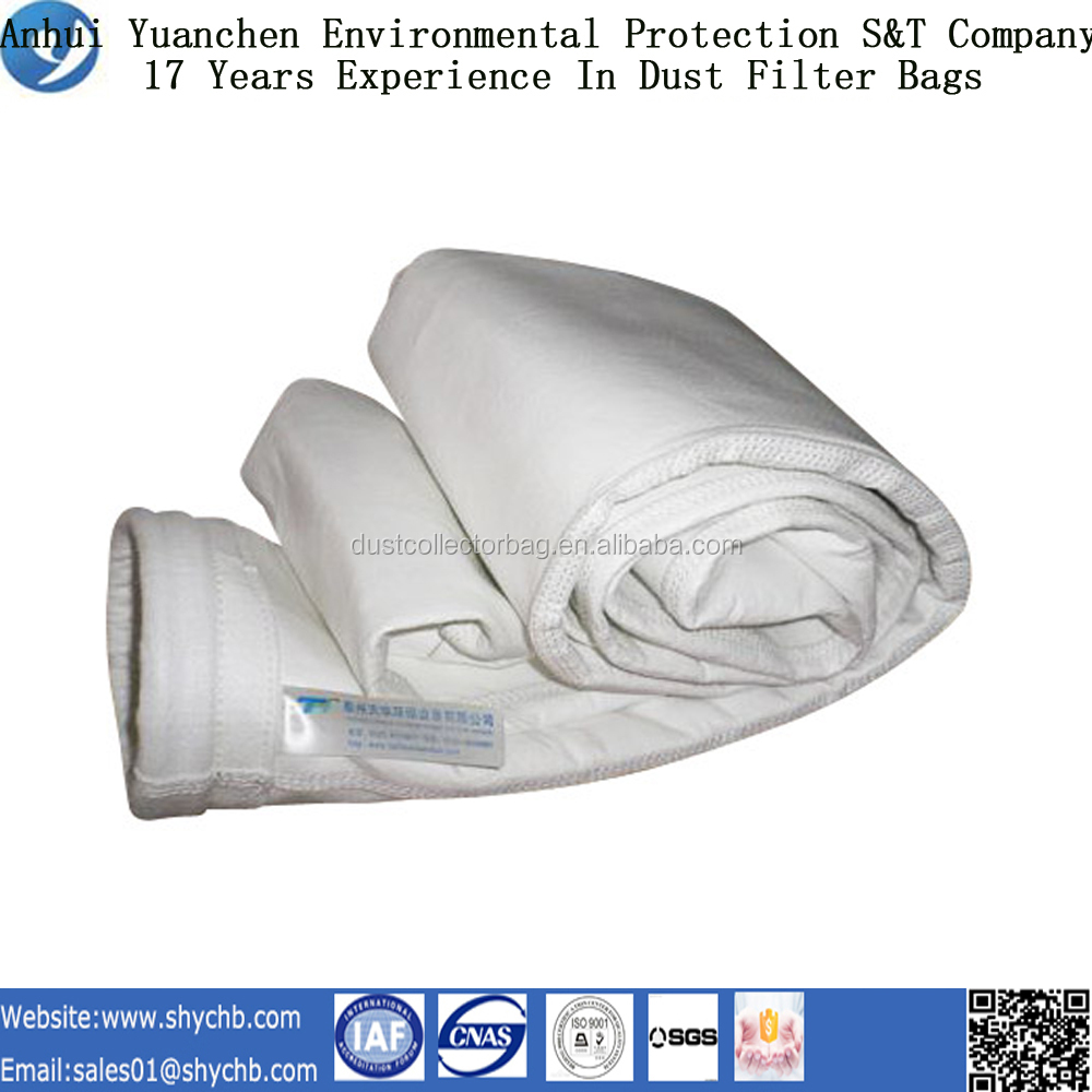Customized Antistatic Polyester dust filter bag with free sample