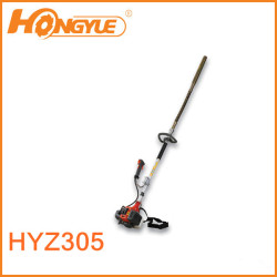 Internal concrete vibrator with 2 stroke gasoline engine
